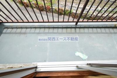 【バルコニー】南天荘