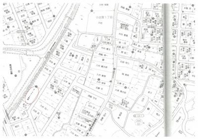 【地図】ラ・フルール妙高
