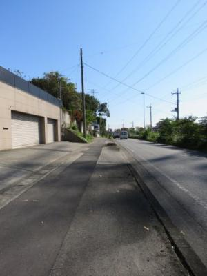 【前面道路含む現地写真】東松山市石橋売地