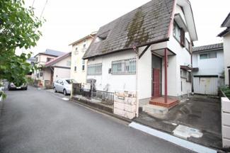 【前面道路含む現地写真】鶴ヶ島市脚折 建築条件なし売地 「一本松駅」徒歩23分