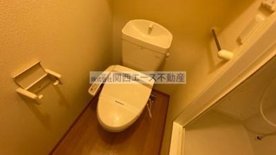 【トイレ】レオパレス菱江