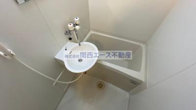 【浴室】レオパレス菱江