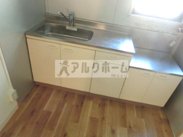 カコム(柏原市古町・2DK) キッチン