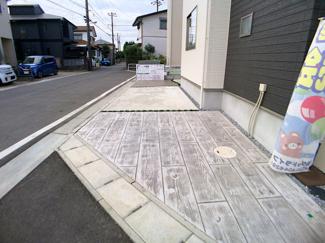 駐車スペースです。