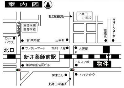 フェリスステージの物件の地図☆