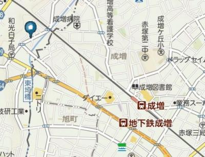 【地図】RSY和光(アールエスワイワコウ)