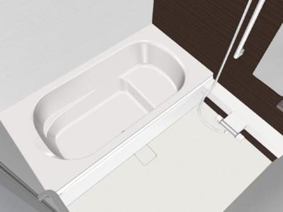 【浴室】大館市芦田子字天下道上・中古住宅 リフォーム済