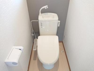 【トイレ】大館市芦田子字天下道上・中古住宅 リフォーム済