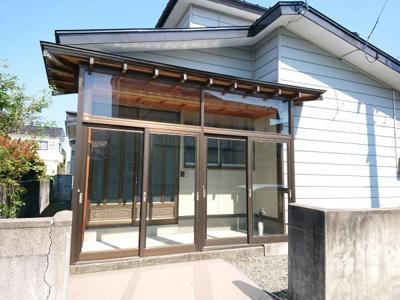 【玄関】大館市芦田子字天下道上・中古住宅 リフォーム済