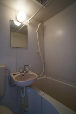 【浴室】コーポ三村