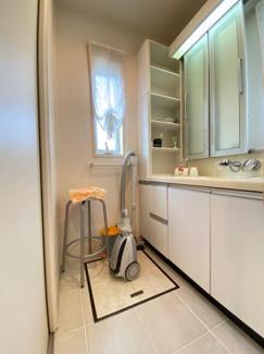 【独立洗面台】大津市北比良984-269 吹き抜けのある家