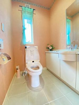 【トイレ】大津市北比良984-269 吹き抜けのある家