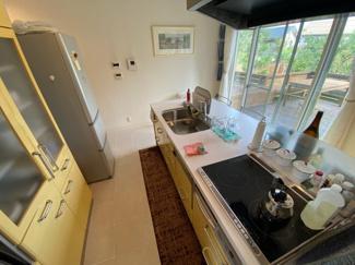 【キッチン】大津市北比良984-269 吹き抜けのある家