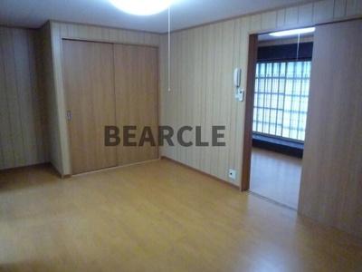 【寝室】木賊山町南側 貸家