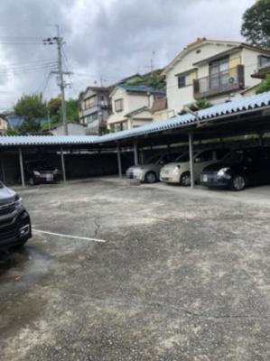 【外観】川西市加茂屋根付き駐車場