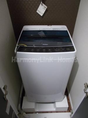 ヴィラ桜丘の室内洗濯機置場☆