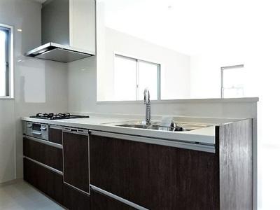 【キッチン】神戸市垂水区本多聞3丁目 新築戸建