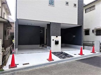 【駐車場】神戸市垂水区本多聞3丁目 新築戸建