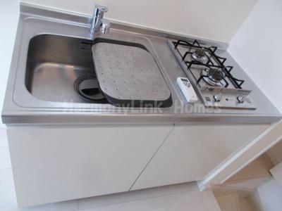 stage野方のコンパクトなキッチンで掃除もラクラク(2口ガスコンロ)☆