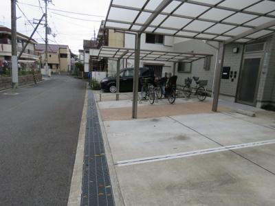 【駐車場】北ガワハイム