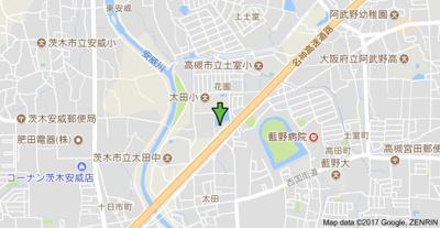 【地図】花園ハイツ弥栄