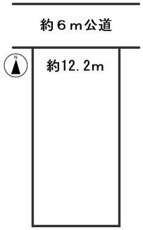 【区画図】54538 岐阜市上土居土地