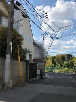 【前面道路含む現地写真】神戸市垂水区高丸8丁目 新築戸建