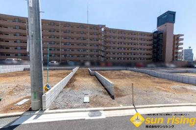 【外観】立川市上砂町5丁目 新築一戸建 8号棟