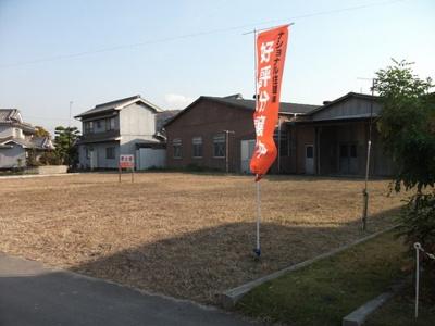 【外観】駅家町下山守 売土地