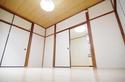 【寝室】サンコーポ赤山