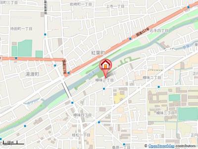 【地図】アヴァンセ樽味