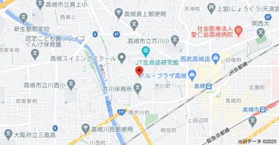 【地図】柳原第一パールハイツ (株)Roots