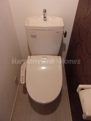 FIORIREのトイレもきれいです