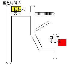【地図】ふじ荘