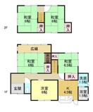 福山市高美台750万円中古戸建の画像