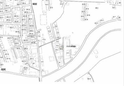 【地図】和歌山市坂田 売土地