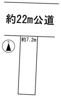 【区画図】55273 岐阜市東興町土地