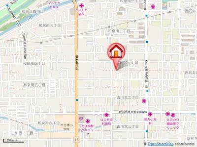 【地図】ミュージアW sachi・