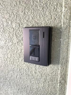 モニター付きインターホン(玄関外側)