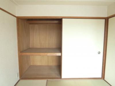 【収納】ガーデンハイツ桃山台壱番館