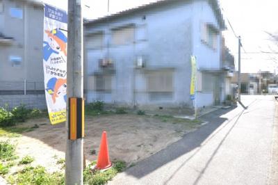 【前面道路含む現地写真】クロワールタウン箕土路町