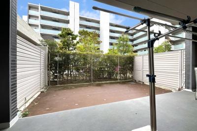 LDKの隣に和室があり、間仕切りを開けると約19帖のスペースに!来客時などにお部屋を広く使うことが出来ます。