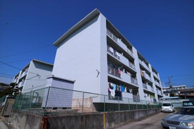 【外観】名谷農住団地8号棟