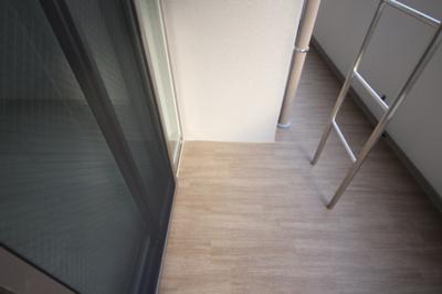 【バルコニー】シェリール六甲道