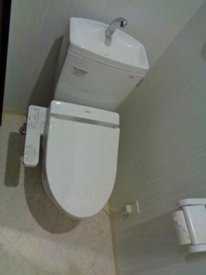 【トイレ】フォーゼ北巽レジデンス