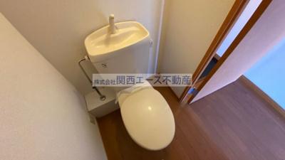 【トイレ】レオパレスソレイユⅡ
