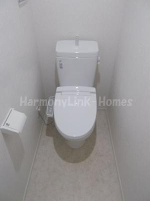 バーミープレイス上板橋のトイレもきれいです