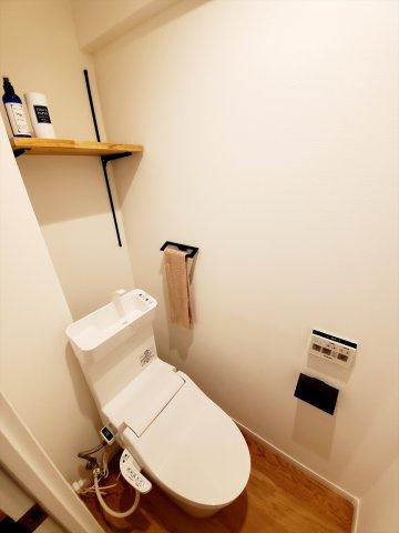 トイレももちろん新品です♪水周りが新品だと気持ちよく使用できてうれしいですよね♪