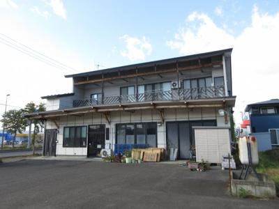 【外観】観音堂・住宅付店舗