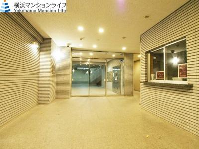 【エントランス】セントラル横濱グリニッシュガーデン